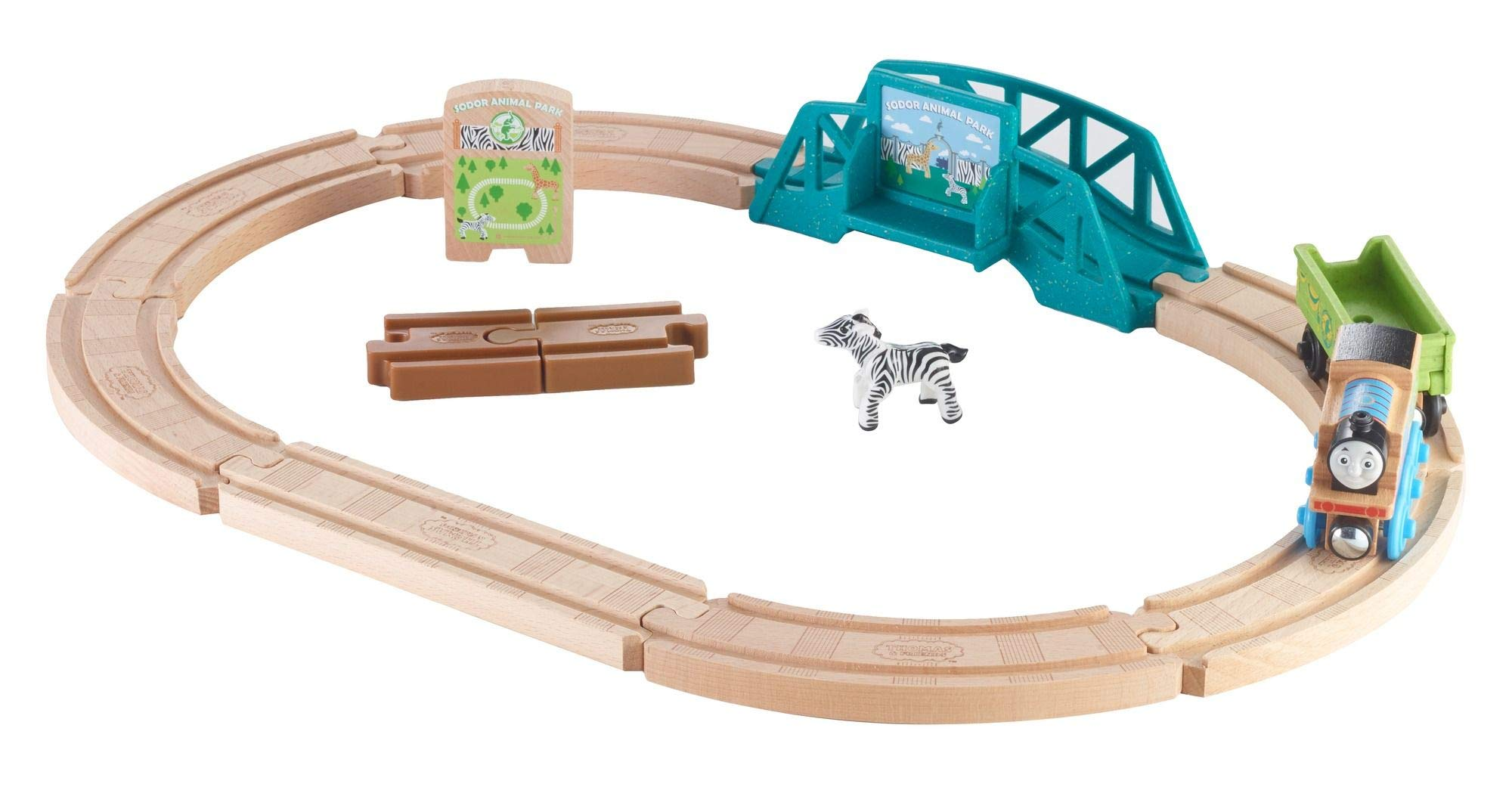 Fisher-Price Thomas & Friends Wood, Animal Park Set