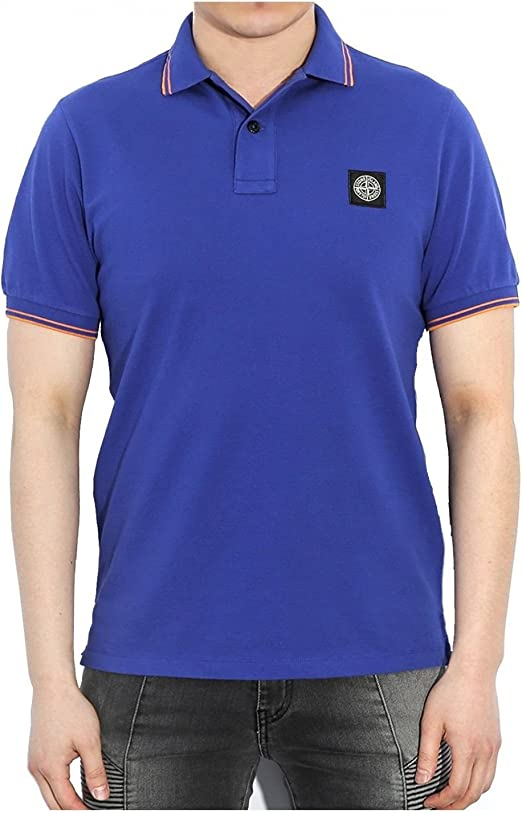 Stone Island - Polo para Hombre Slim Fit 6515508A3: Amazon.es ...