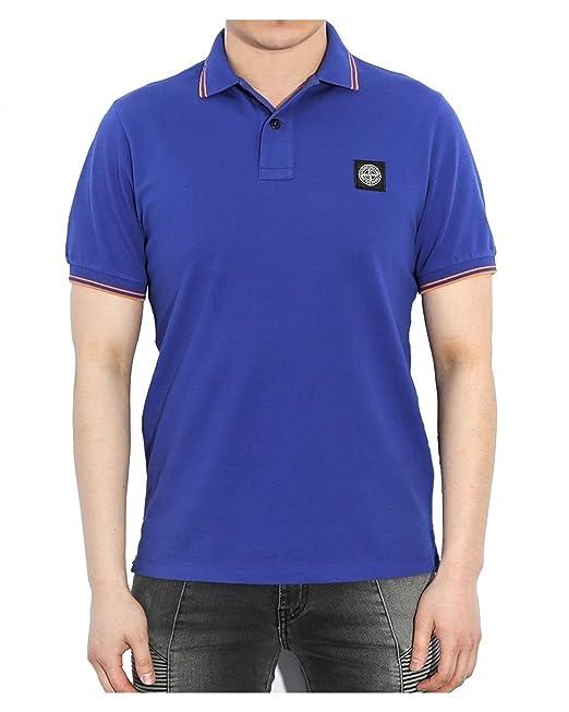 74c9fc9f350 Stone Island Slim Fit Men's Polo 6515508A3: Amazon.ca: Clothing &  Accessories