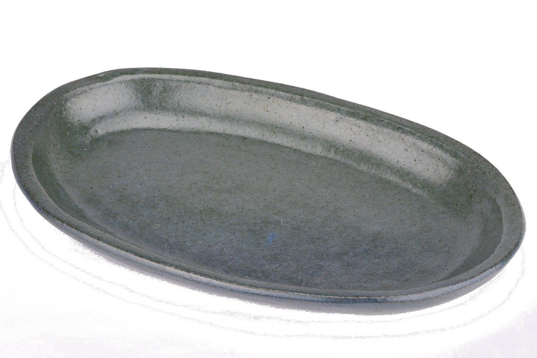 Cafe Ceramic Oval Platter Handmade by Fair Trade Artisans (Oval Platter)