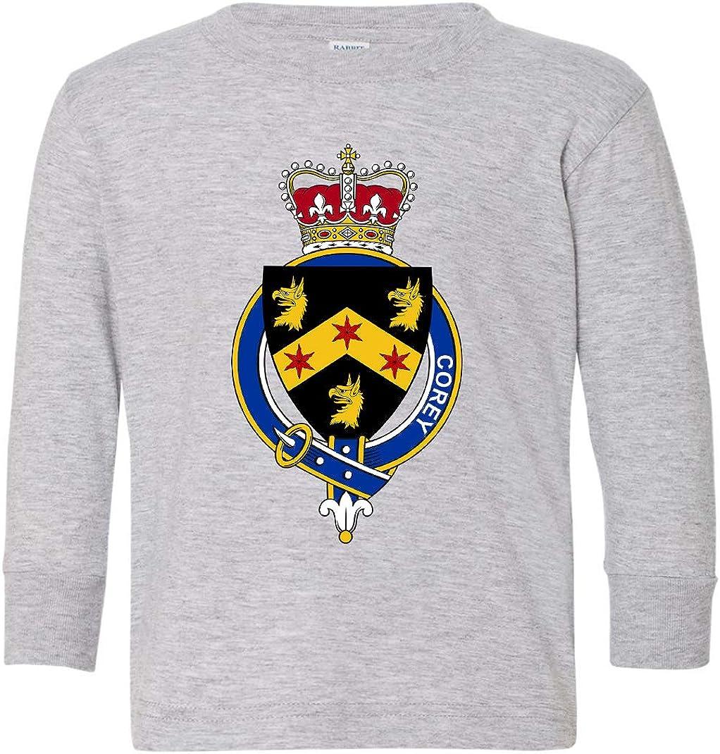 Tenacitee Toddlers Irish Garter Family Corey Long Sleeve T-Shirt