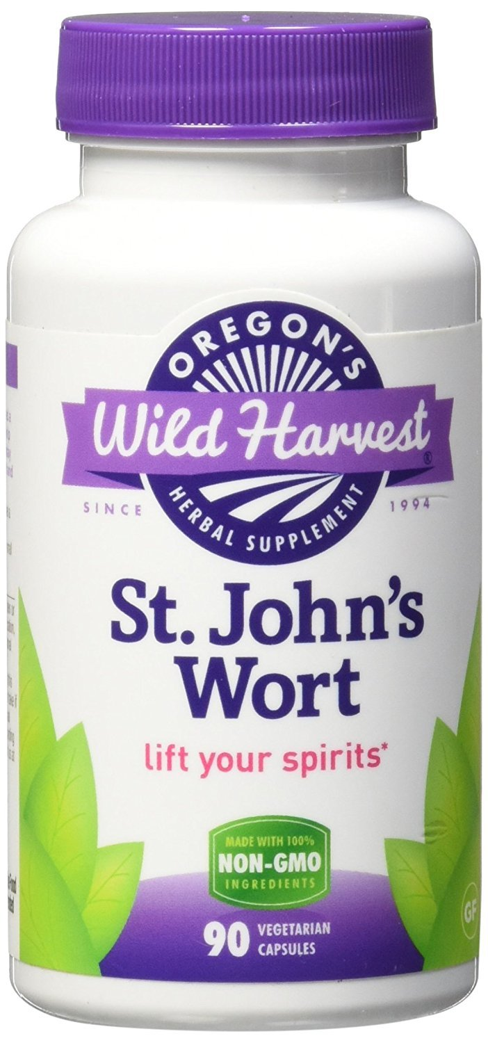 Oregon s Wild Harvest. St. John s Wort. 90 Ct. 2 Pack