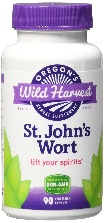 Oregon's Wild Harvest. St. John's Wort. 90 Ct. 2 Pack