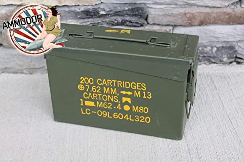 Ammodor tactical ammo can cigar humidor