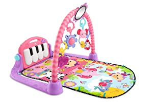 Fisher-Price Kick 'n Play Piano Gym, Pink