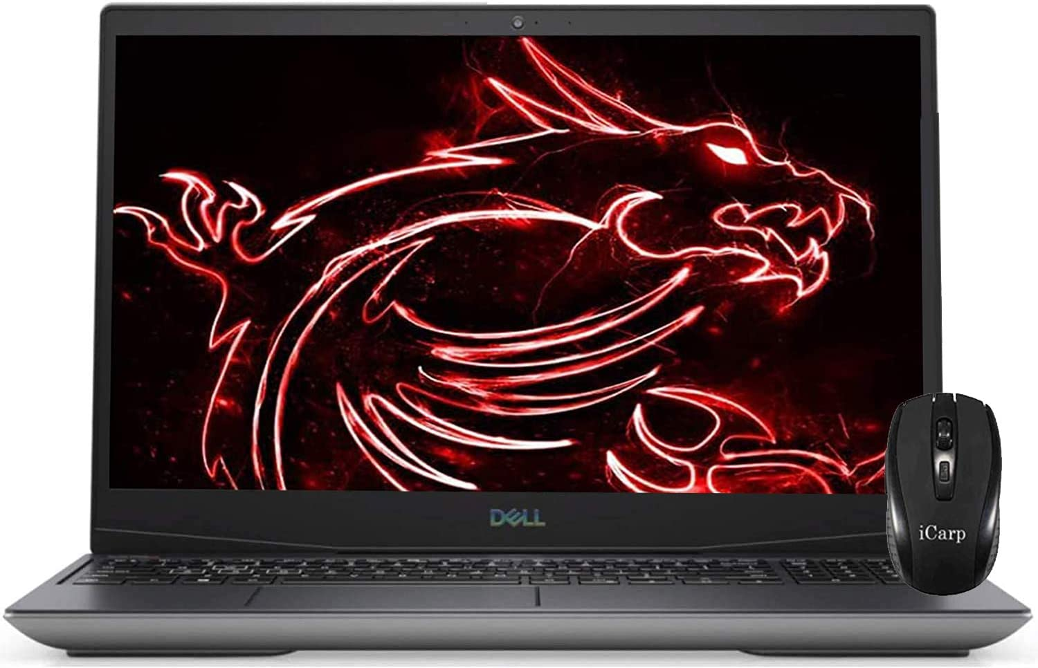 "2020 Flagship Dell G5 15 Gaming Laptop 15.6"" FHD Display 10th Gen Intel Hexa-Core i7-10750H 32GB DDR4 512GB PCIe SSD 1TB HDD 4GB GTX 1650 Ti Backlit Thunderbolt HDMI Win 10 + iCarp Wireless Mouse"