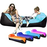 Ulecamp Inflatable Lounger Air Sofa Hammock Portable,Quick and Easy to infalted & Pack Way,Water Proof& Anti-Air Leaking…