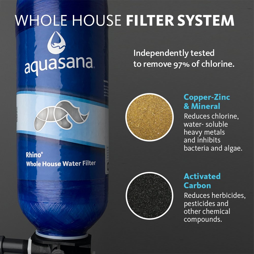 Whole House Filtration Systems 5 Year 500 000 Gallon Well Water Whole House Filter With Salt