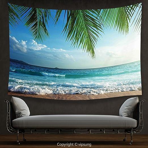 Tapiz de decoración para el hogar, árboles de palmas para ...