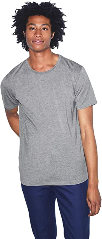 American Apparel Mix Modal Short Sleeve T-Shirt