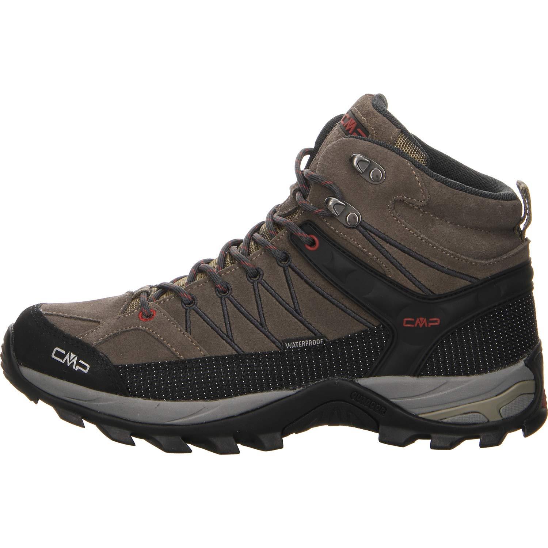 (Torba-antracite 02pd) 44 EU CMP Rigel Mid, Chaussures de Trekking et randonnée Homme