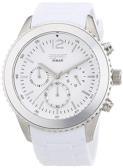 Esprit marin men ES105331010 - Reloj cronógrafo de cuarzo para hombre, correa de resina color