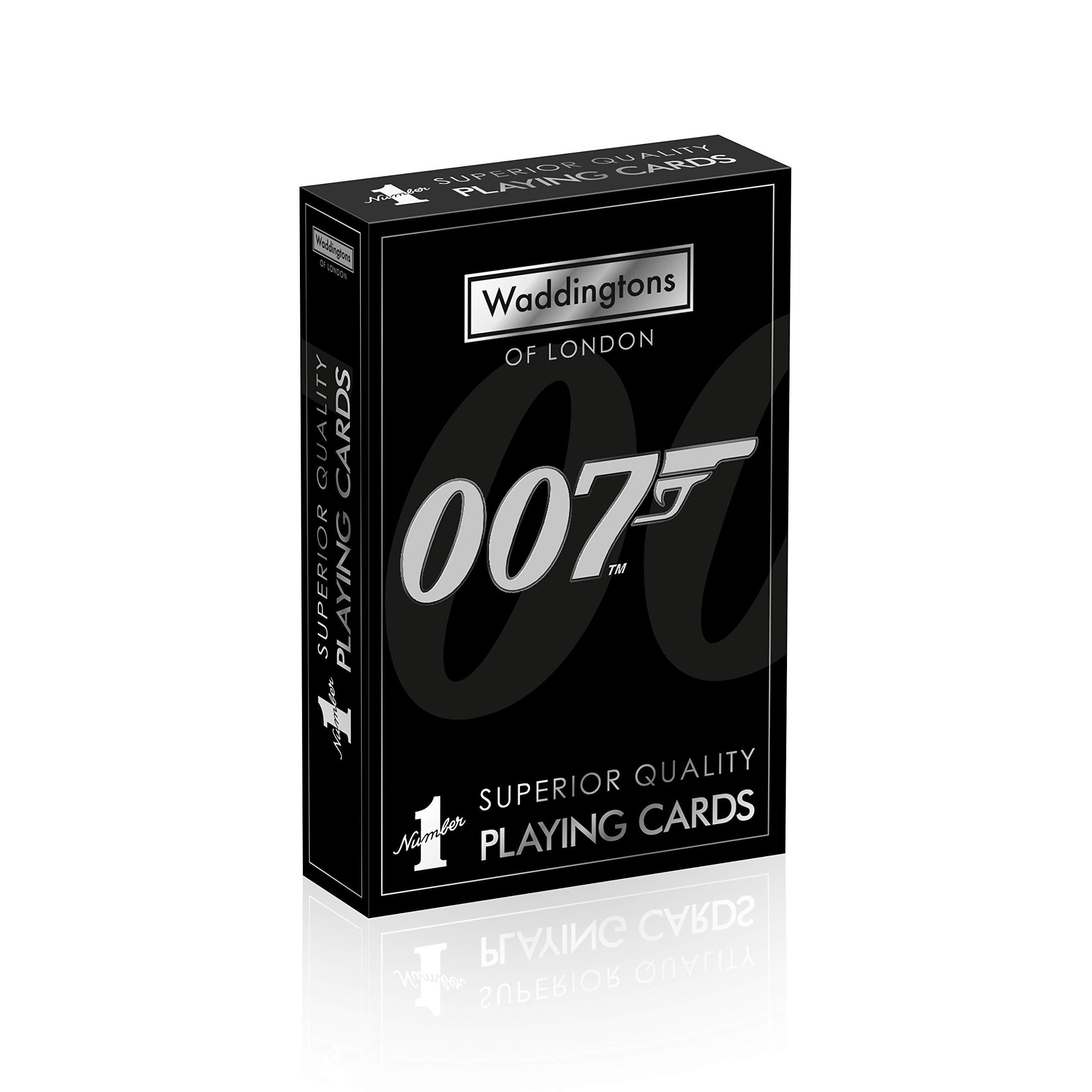James Bond 007 Waddingtons Number Playing Cards