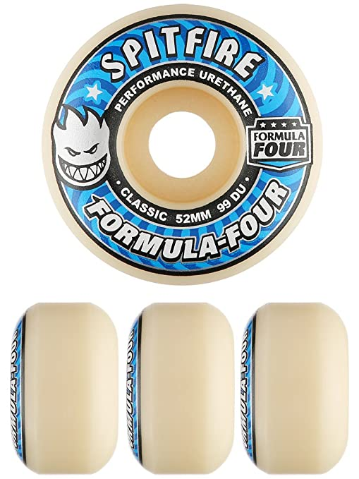 d89eb938bf0 Image Unavailable. Image not available for. Color  Spitfire Formula Four  Classic Shape 99A Skateboard Wheels ...