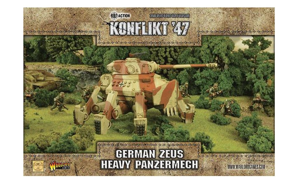 Warlord Games Konflikt 47 German Zeus Heavy Panzermech 28mm