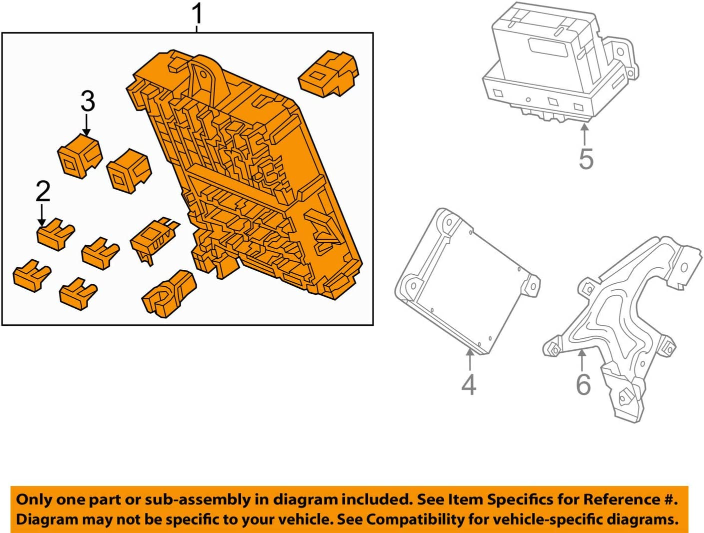 Genuine Honda 38200-TM8-A23 Fuse Box Assembly