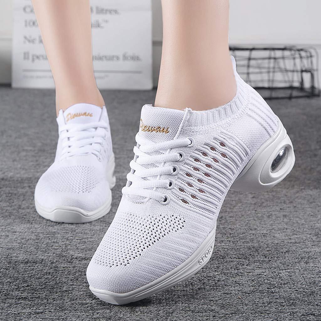 Zapatillas De Deporte Para Mujer Zapato De Baile De Malla Ligeras Zapatillas Deportivas Transpirables Zapatos Verano De Baile Latino Para Mujeres Zapatillas De Danza Jazz Wyxhkj