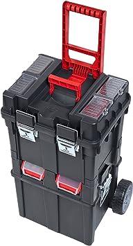 Caja de herramientas con ruedas de plástico para uso general ...