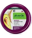Alverde - Repair - Beurre pour les cheveux - Beurre de Karité & Avocat Bio - 200 ml