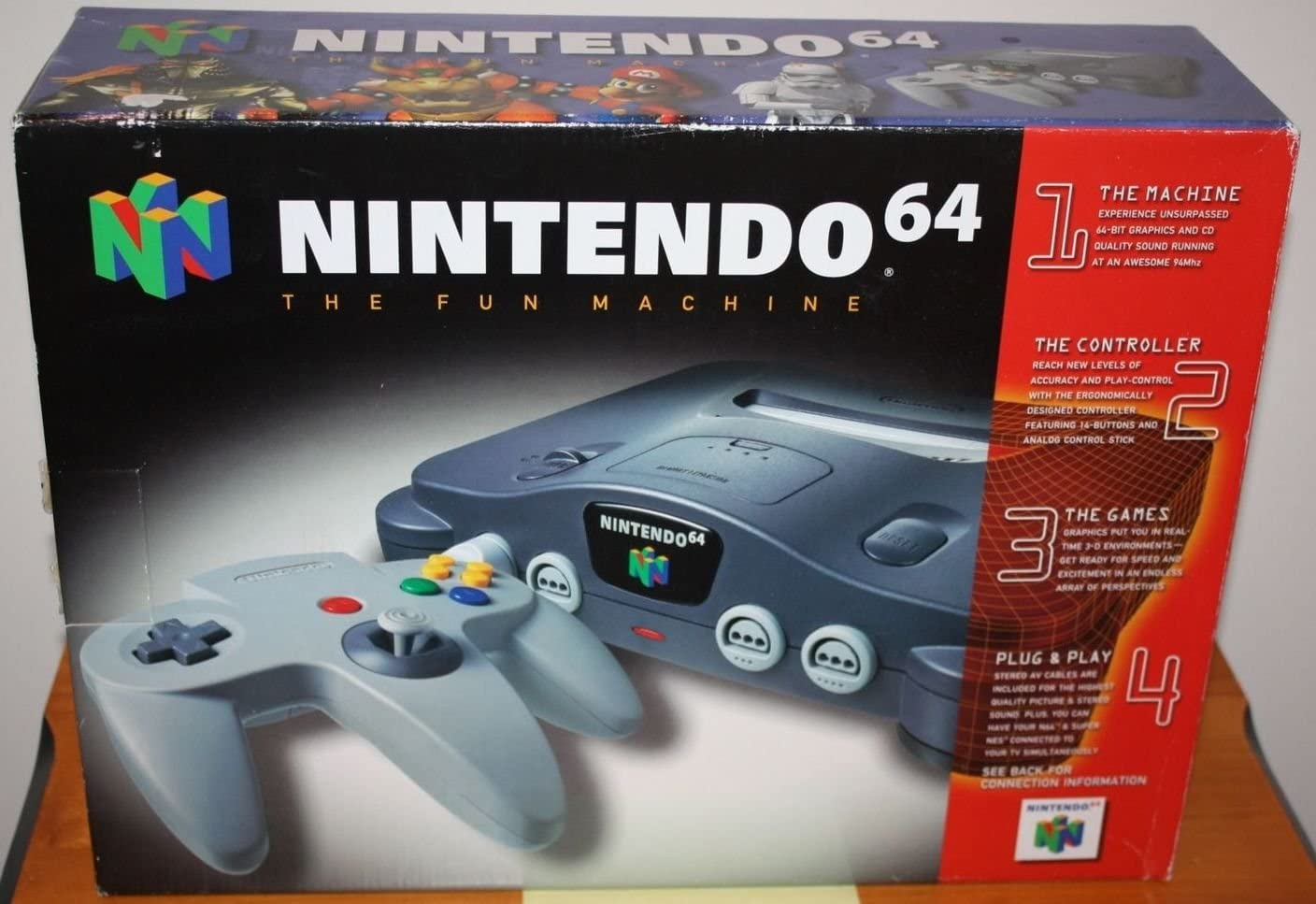 Amazon.com: Nintendo 64 System - Video Game Console: Unknown: Video ...