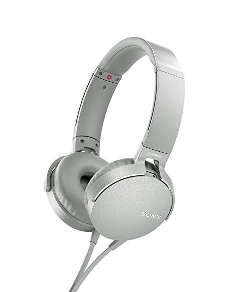 Sony MDR - XB550AP - Auriculares de diadema Extra Bass (micrófono integrado compatible con Smartphones