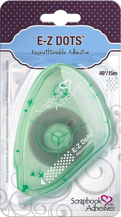 Klebe-Abroller Foto Papier E-Z Dots 0,45€//m 8 m Klebeband Mini Klebepunkte
