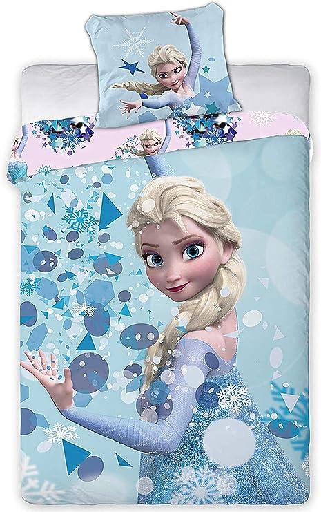 Copripiumino Singolo Frozen.Disney Frozen Copripiumino Per Letto Singolo 140x200 63x63 Cm