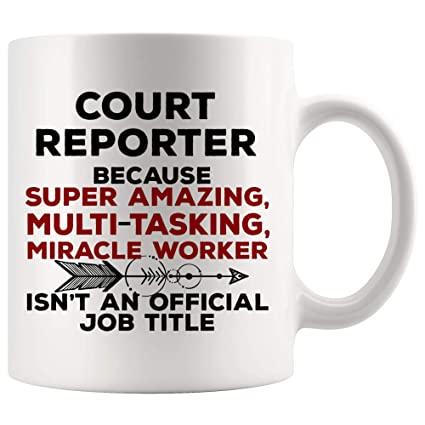 Amazon.com: Court Reporter Mug Coffee Best Ever Cup ...