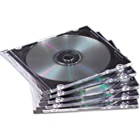 Discontinued by Manufacturer Fujifilm Media 25367250 Empty Color Slim Jewel Cases 50 Pack