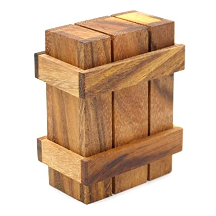 Gift Card Case Holder Puzzle Box For Adults With Wooden Compartment Secret Boxes Style Intelligence To Challenge Mind Puzzles For Hidden Cards And