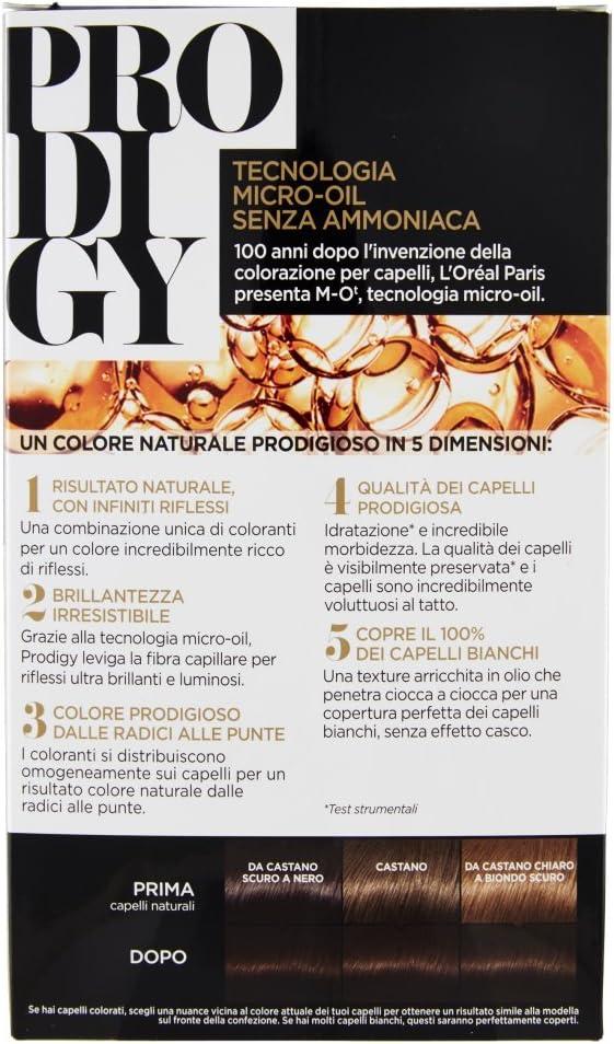 LOREAL Prodigy 5.0 Nogal Claro Brown Tinte Para El Cabello Y El Color