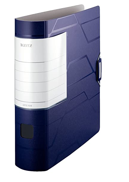 Leitz 1026-00-35 - Archivador con anillas, azul