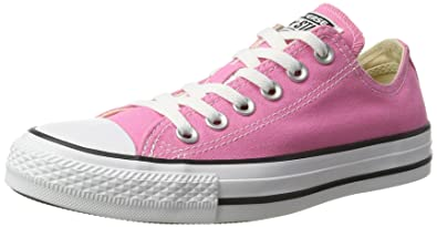 9aea0bb31156 Image Unavailable. Image not available for. Color  Converse Unisex Chuck  Taylor All Star Ox Low Top Classic Pink ...