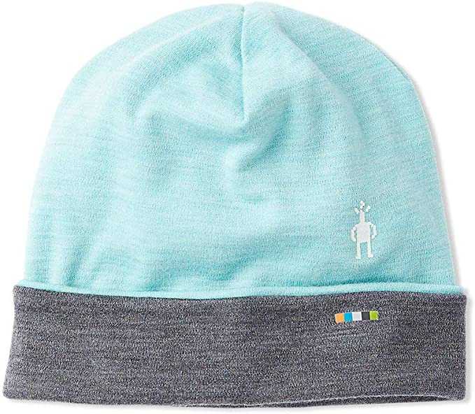 Amazon.com: Smartwool Cuffed Beanie Nile Blue Heather One Size: Clothing