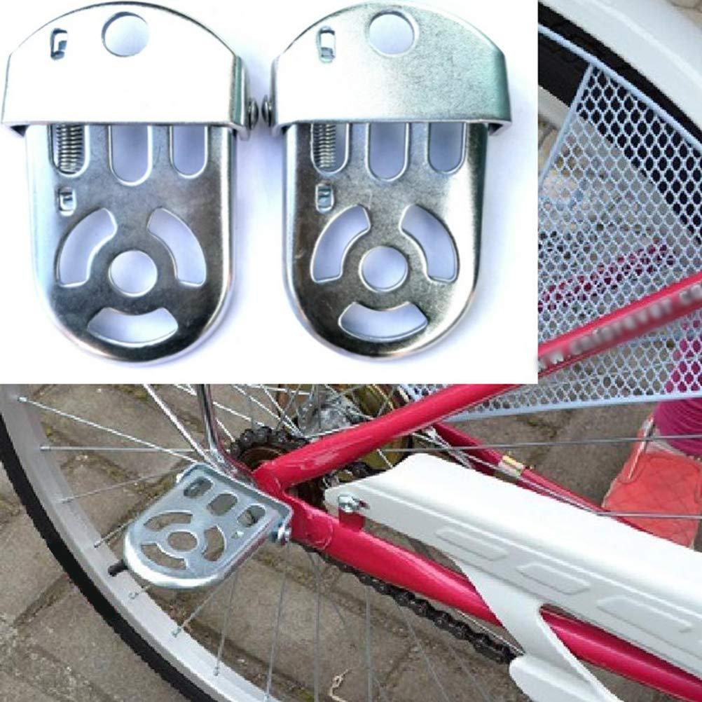 Dirt Bike Moto pour Enfants LIOOBO Repose-Pieds de v/élo pour Moto