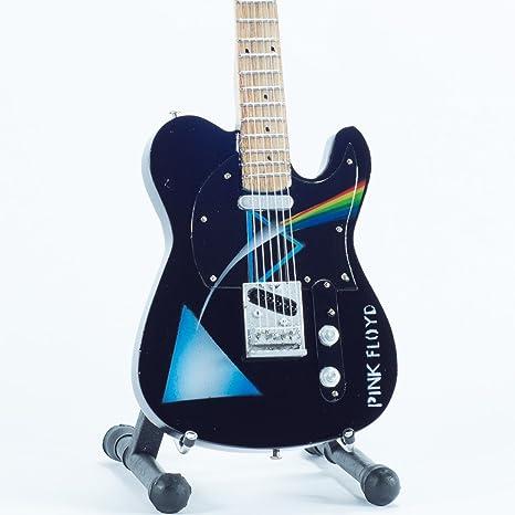 Mini guitarra de colección - Replica mini guitar - Pink Floyd - Tribute - DSOM