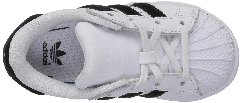 adidas Originals Kids Superstar Black//White
