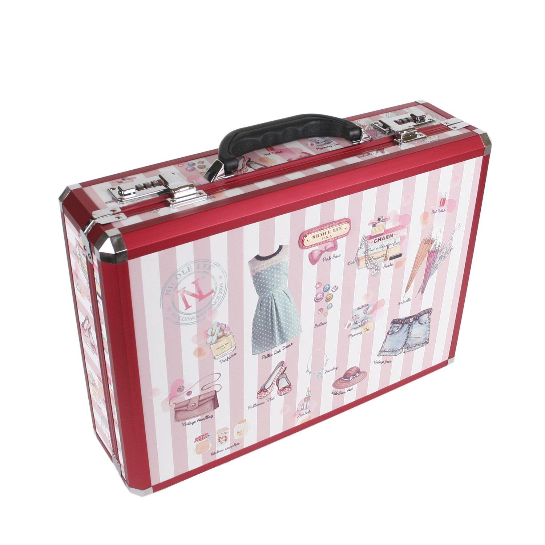 Nicole Lee Priscilla 19 Inch Aluminum Briefcase One Size ALU200-SUB Sunny Brown