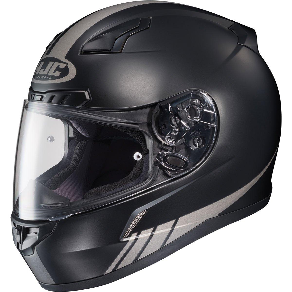 HJC Streamline Men's CL-17 Sports Bike Motorcycle Helmet - MC-5GF / Large