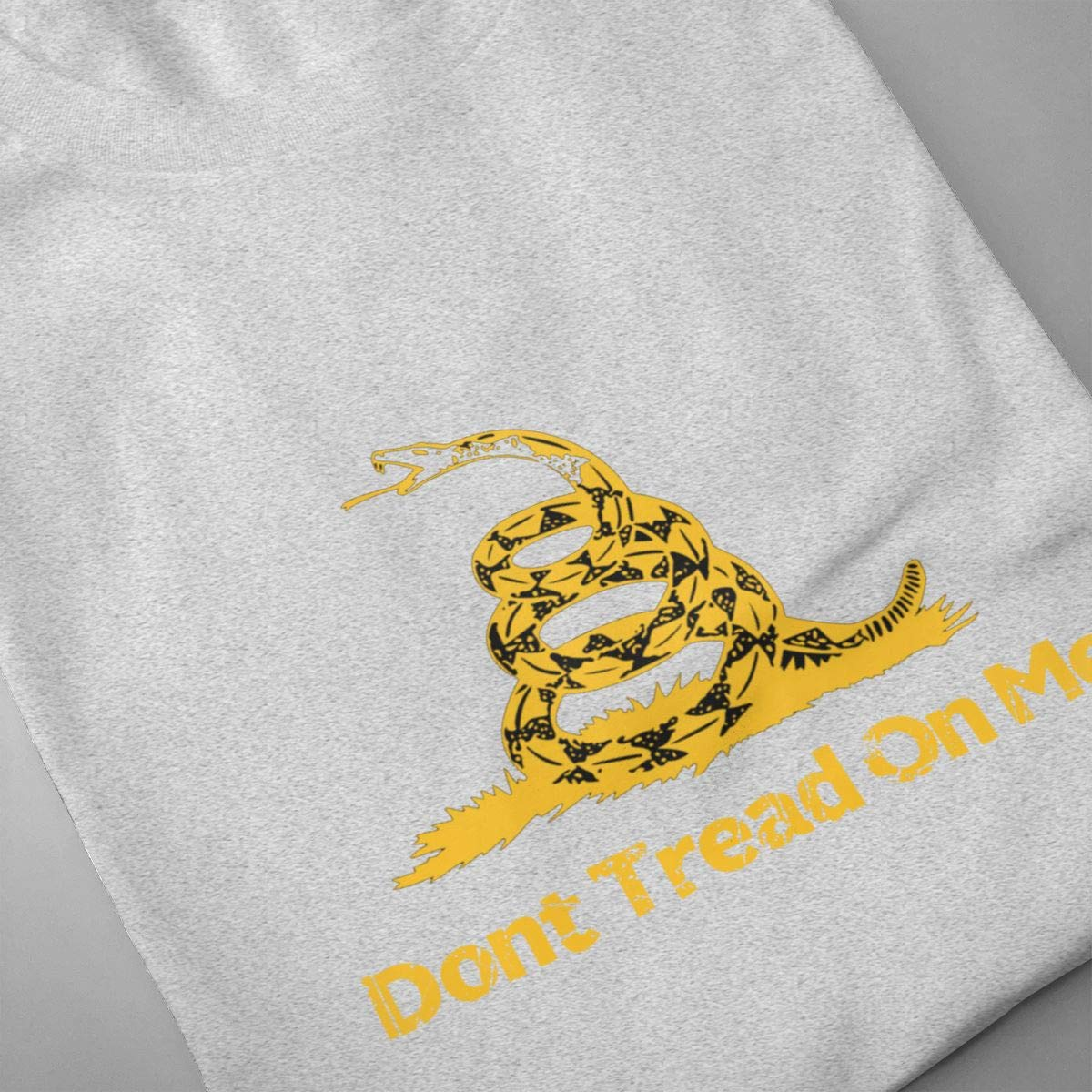 Kuglobal Mens Don/¡/¯t Tread On Me Crew Neck Tee Graphic Novelty Casual T-Shirt