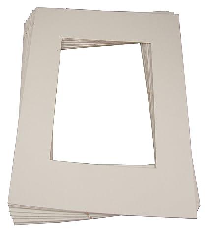Amazon.com: Inovart Picture-It White Pre-Cut Art/Photo Mat Frames ...