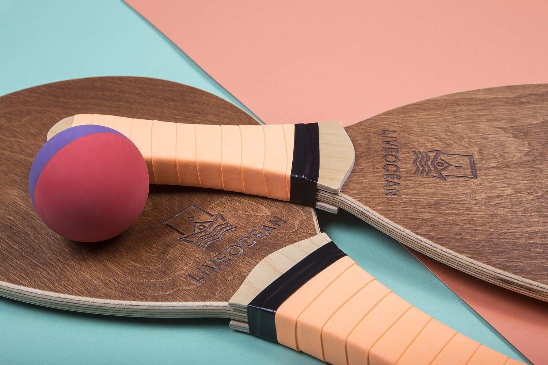 Amazon.com: LIVEOCEAN - Juego de pelotas de tenis de playa ...