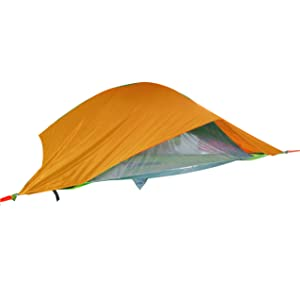 Tentsile Vista 3-Person 2-Season Tree Tent Hammock with Rainfly and Removable Roof