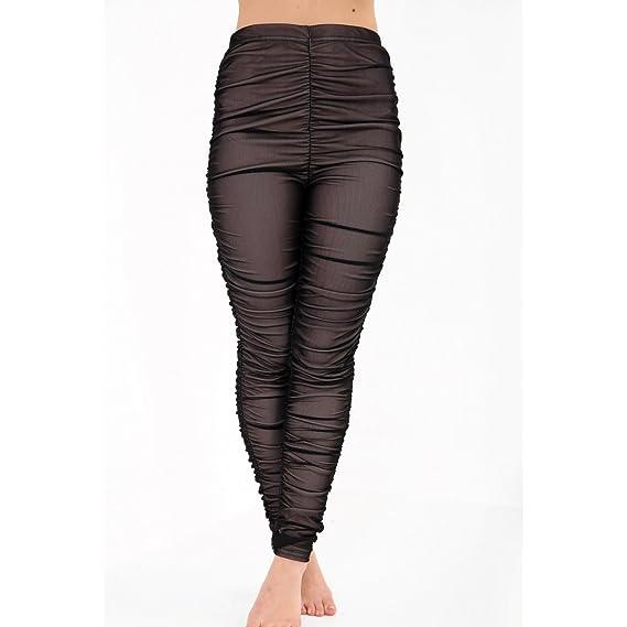 Para Shop 44Amazon es Pantalón Fashion Mujer Rojo Funky Negro sdQChrxt