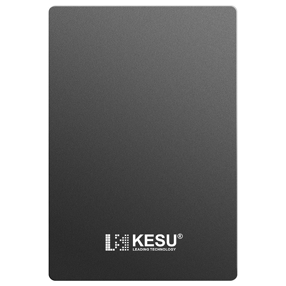2.5'' 500GB Portable External Hard Drive USB3.0 SATA HDD Storage for PC, Mac, Desktop, Laptop, MacBook, Chromebook, Xbox One, Xbox 360, PS4, PS4 Pro, PS4 Slim (Black) by KESU (Image #3)