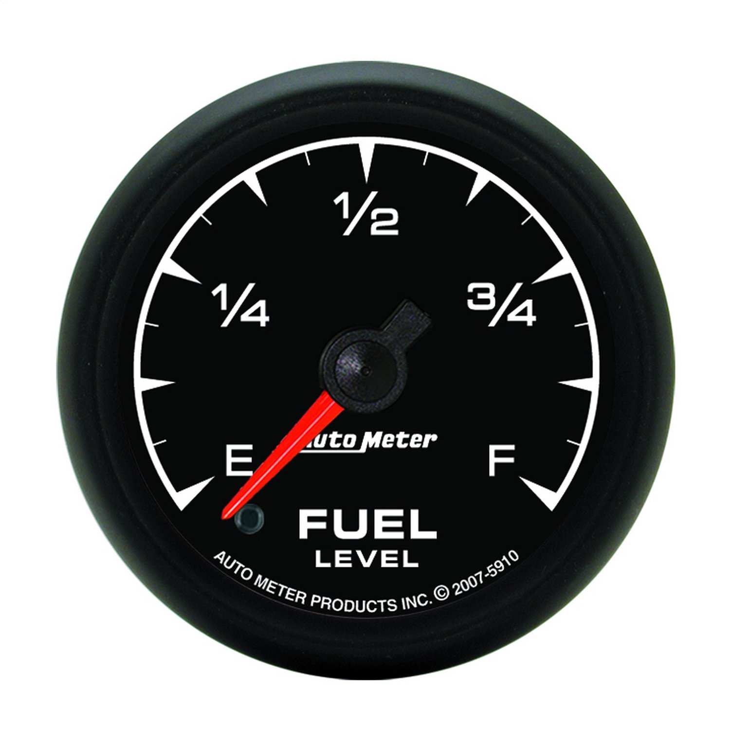 Auto Meter 5910 ES 2-1/16'' Universal Stepper Full Sweep Electric Fuel Level Programmable Empty - Full Range Gauge