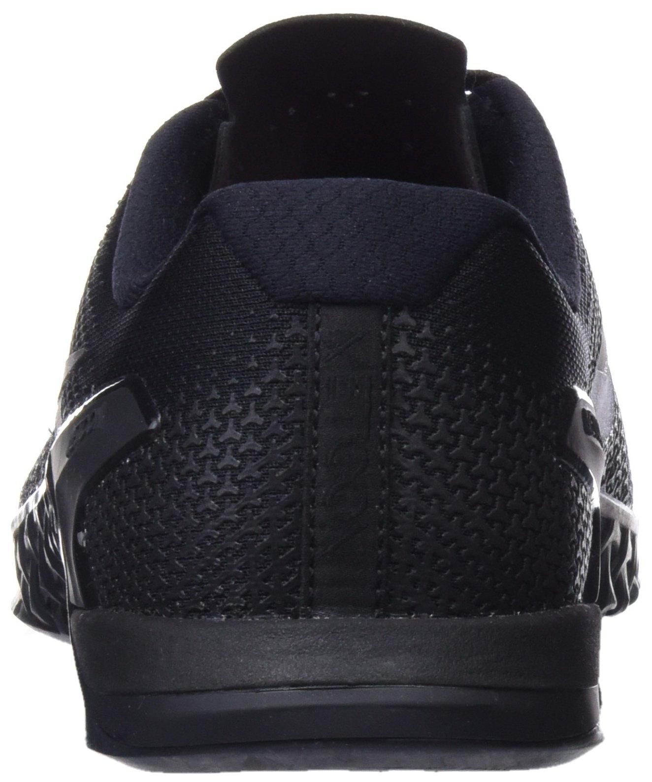 Nike Men's Metcon 4 Training Shoe Black/Black-Black-Hyper Crimson 7.5 by Nike (Image #2)