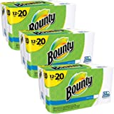 Bounty Select-a-Size Mega Roll Paper Towels, 105 sheets, 12 rolls - Pack of 3