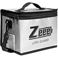 Zeee Lipo Safe Bag Fireproof Explosionproof Bag Large Capacity Lipo Battery Storage Guard Safe Pouch for Charge…