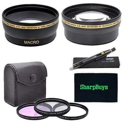 43mm Wide angle Lens UV Filter Kit Telephoto lens
